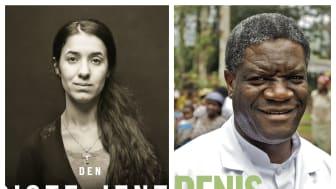 Nadia Murad og Denis Mukwege fikk Nobels fredspris 2018 for sin kamp mot seksualisert vold i krig. Begge har fortalt sine historier i bokform.