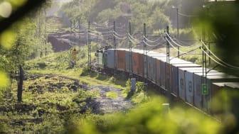 Efterfrågan på tågtransporter är ovanligt stor, bekräftar APM Terminals i Göteborg. Bildkälla: Göteborgs Hamn AB.