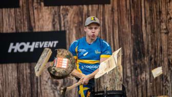 Ferry Svan gör sig redo för individuella VM i TIMBERSPORTS® - ska bli historisk