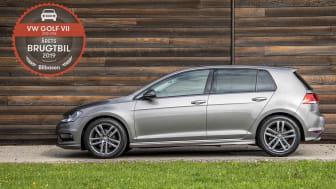 Golf VII årgang 2013-2016 er solgt i 11.864 eksemplarer og kan fås med benzin-, diesel-, el- eller pluginhybrid-motor