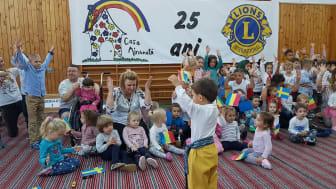25 års jubileum med eleverna