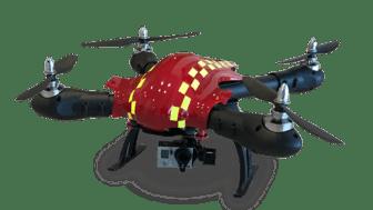 Innovatumbolaget FlyPulse i samarbete med brandförsvarsförbund