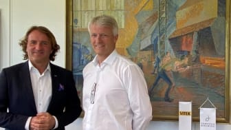 Øystein Kjellsen på venstre, Torgeir Nærø på høyre side.