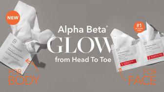 Alpha Beta® Exfoliating Body Treatment - your full body facial. Ger dig en komplett kroppsbehandling som förvandlar din hud.