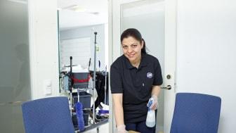 Från och med mars 2018 är det ISS som levererar lokalvården inom hela Bodens kommun.