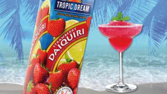 Den alkoholfria drinken Strawberry Daiquiri från Tropic Dream har fått mer jordgubbssmak.