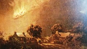 Fireball - artist's impression