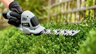Ny batteridriven Gräs- & Busksax -Oöverträffad precision för exakt klippning