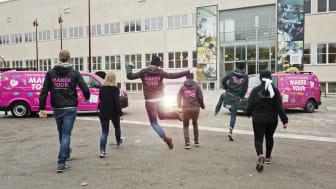 Tekniska museets MakerTour-gäng kommer till Göteborg. Foto Anna Gerdén