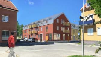 Riksbyggen skapar nya seniorbostäder i bästa läge i Bromma