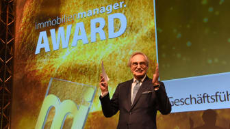 immobilienmanager Award 2017: Rudolf M. Bleser, Geschäftsführung Immobilien Manager Verlag