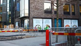 Holy Greens bygger en ny restaurang på Isbergs gata 15 i Malmö.