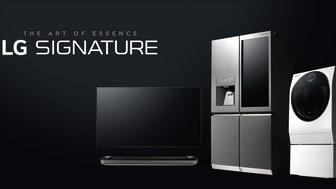Den nye LG Signature produktserie