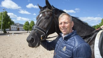 Jens Fredricson, stallmästare på Ridskolan Strömsholm. Foto: Roland Thunholm