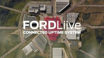 Fordin uusi FORDLiive-palvelu parantaa yritysten kaluston hyötykäyttöä ja tuottavuutta