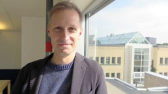 Stefano Fogelberg Rota, docent i litteraturvetenskap vid Umeå universitet  Foto: Hanna Kalla