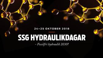 SSG hälsar välkommen till årets SSG Hydraulikdagar!