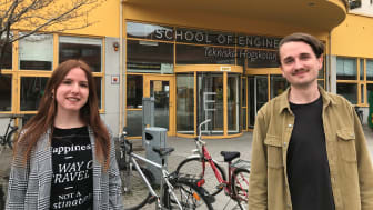 Irene Ramos Lapesa och Gustav Eriksson är två av de åtta masterstudenterna på Tekniska Högskolan vid Jönköping University som ingår i IKEA-projektet. De tycker att det har varit utmanande och berikande att jobba tillsammans med IKEA.