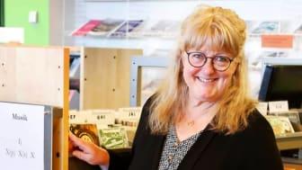 Gunilla Hallgren är ny kulturutvecklare i Sunne kommun