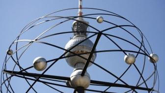 Berliner Fernsehturm und Weltzeituhr