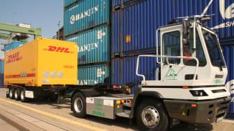 Mit dem Elektro-LKW Terberg untersuchte und erprobte die Forschungsgruppe Verkehrslogistik neue Wege für einen umweltfreundlichen Gütertransport in Ballungszentren.
