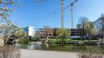 Östsvenska Handelskammaren flyttar in i Lundbergs Fastigheters kontorsbyggnad LINK Business Center i december 2021