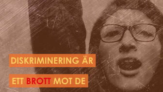 Internationella dagen mot diskriminering: Värna om MR!