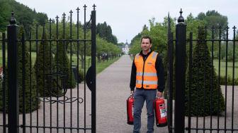Norrvikens trädgårdar valde miljövänliga brandsläckare från CGS