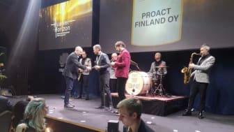 Proact Finland vinnare Gulddraken 2020 - Data Center Partner of the Year