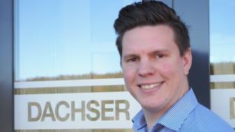 Marius Jahr, Operations Manager hos Dachser Norway