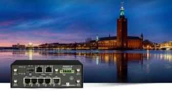 Induo levererar till Stockholm Stads projekt Smart & uppkopplad belysning