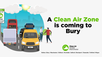 Bury Council approves Clean Air Plan for Greater Manchester