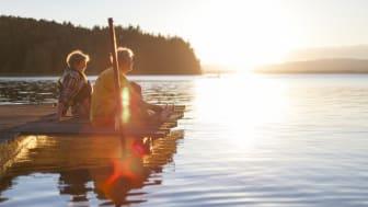 Efterfrågan är stor på utomhusupplevelser i Dalarna. Foto: Matilda Holmqvist/Visit Dalarna