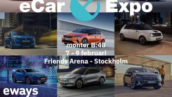 Träffa oss på elbilsmässan eCar Expo 2020