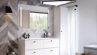 IDO Elegant on sarja, jonka ajaton design sopii jokaiseen kylpyhuoneeseen. Ohut, keraaminen tasoallas tuo kylpyhuoneeseen eleganttia tunnelmaa.