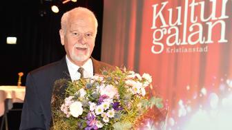 Kristianstads kommuns kulturpristagare Björn Flygare. Foto: Mattias Roos