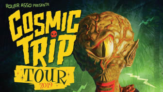 LE COSMIC TRIP TOUR 2019: The Scaners, Les Lullies, Weird Omen