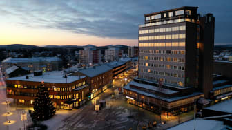 Gågatan i Boden foto Bodens kommun/KOMM