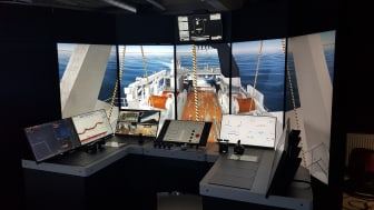The new K-Sim Fishery simulator includes instruments and aft deck view enabling training to avoid risk elements associated with aft deck operations onboard fishing vessels