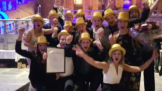 Ica Maxi Nacka tog hem priset som Årets Butik på Dagligvarugalan i Stadshuset i Stockholm