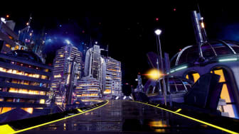Ride through a virtual Future City with The Journey by Intelligent Cycling