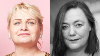 Soraya Post och Stina Svensson, Feministiskt initiativs toppkandidater till Europaparlamentet 2019.