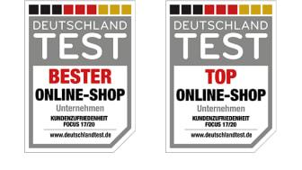 Deutschlands beste Online-Shops