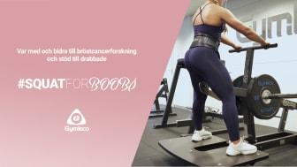 Gymleco startar en innovativ insamling för att bidra till Bröstcancerförbundet
