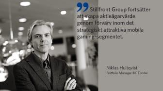 Niklas Hultqvist, förvaltare av IKC Sverige Flexibel.