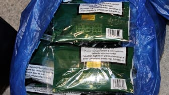 SO 03.18 Some of the seized hand-rolling tobacco