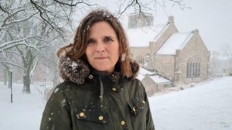 Sofia Camnerin är ny generalsekreterare för Sveriges kristna råd. Foto: Mikael Stjernberg.