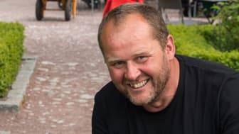 John Taylor, Slottsträdgården Malmö med Årets Sommarblomma 2016. Stor Daggsalvia.