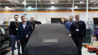 Delegates from the Apollo Motor Group visit the Thatcham Research Automotive Academy