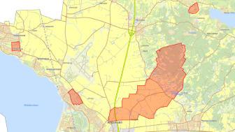 I Ängelholms kommun finns olika områden där det finns vattentäkter som vi får dricksvatten ifrån. Det största området är Brandsvig som står för hälften av vårt dricksvatten.